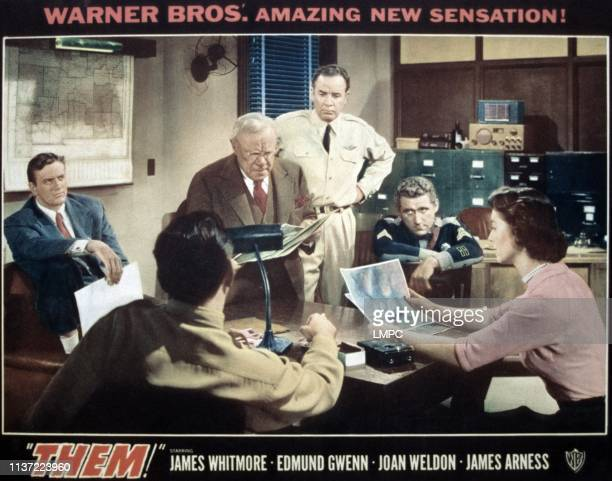 James Arness Edmund Gwenn Chris Drake James Whitmore Joan Weldon 1954