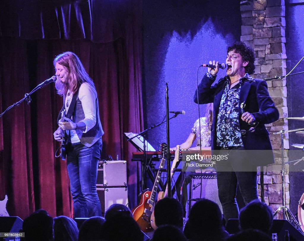 Them Vibes perform at City Winery Atlanta on July 12, 2018 in Atlanta, Georgia.