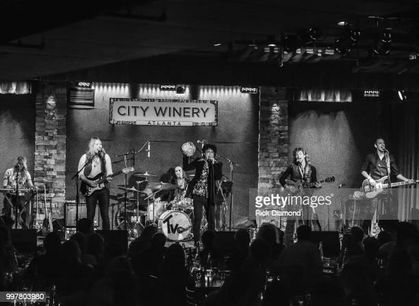 Them Vibes perform at City Winery Atlanta on July 12 2018 in Atlanta Georgia