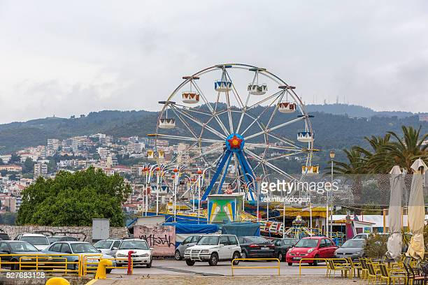 theme park in downtown kavala  greece