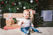 https://www.istockphoto.com/photo/theme-winter-and-christmas-holidays-child-boy-caucasian-blond-1-year-old-sitting-gm1035188342-277150112