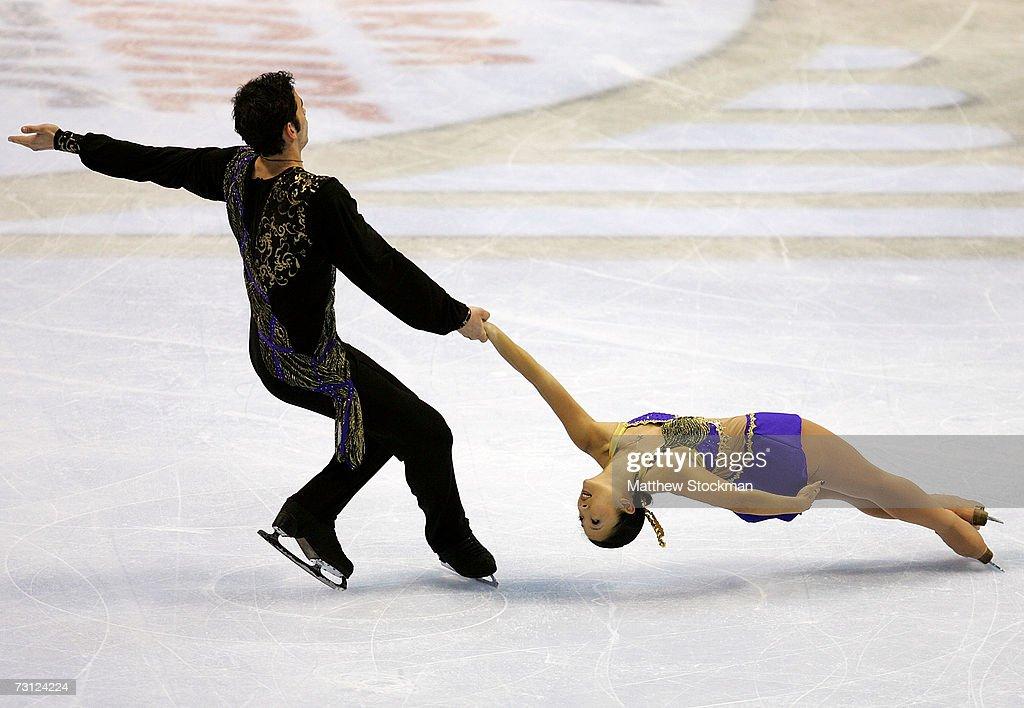 2007 State Farm U.S. Figure Skating Championships : News Photo