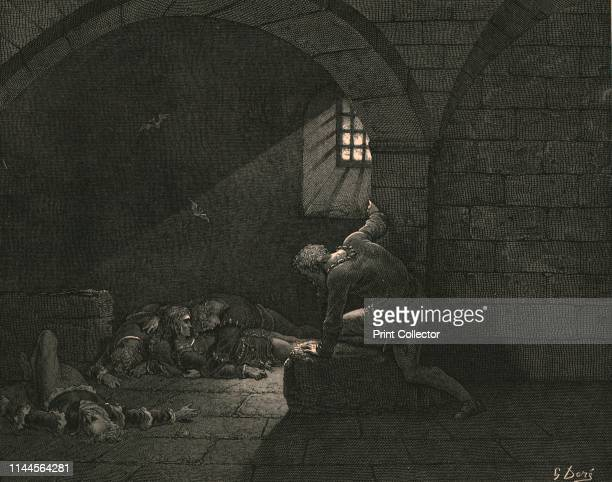 Then, fasting got the mastery of grief, circa 1890. Count Ugolino, his sons and grandsons condemned to death by starvation in the Torre dei Gualandi....