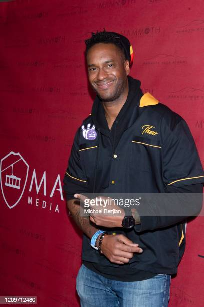 Theo Dumont arrives at 3rd Annual Mammoth Film Festival Red Carpet Saturday on February 29 2020 in Mammoth Lakes California