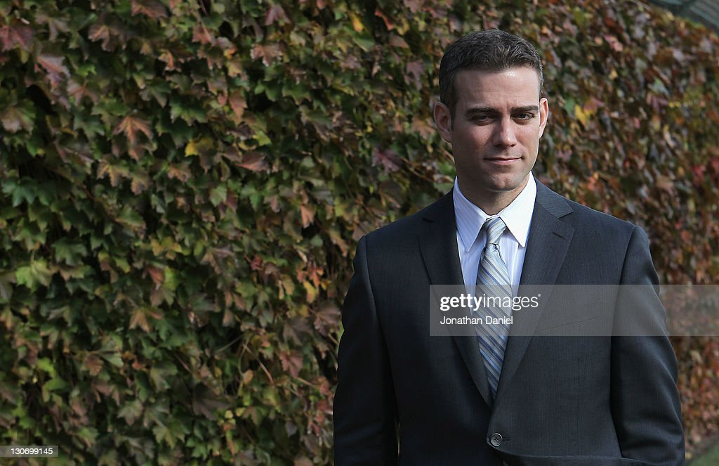 Chicago Cubs Introduce Theo Epstein as President of Baseball Operations : News Photo