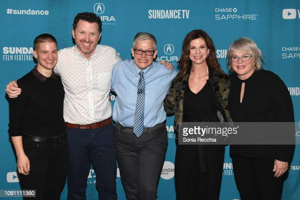 Theo Germaine Tim Mason Abby McEnany Karin Anglin and Julia Sweeney attend the Indie Episodic Program 2 during the 2019 Sundance Film Festival at...