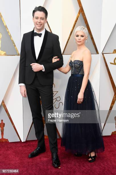 Theo Green attends the 90th Annual Academy Awards at Hollywood Highland Center on March 4 2018 in Hollywood California
