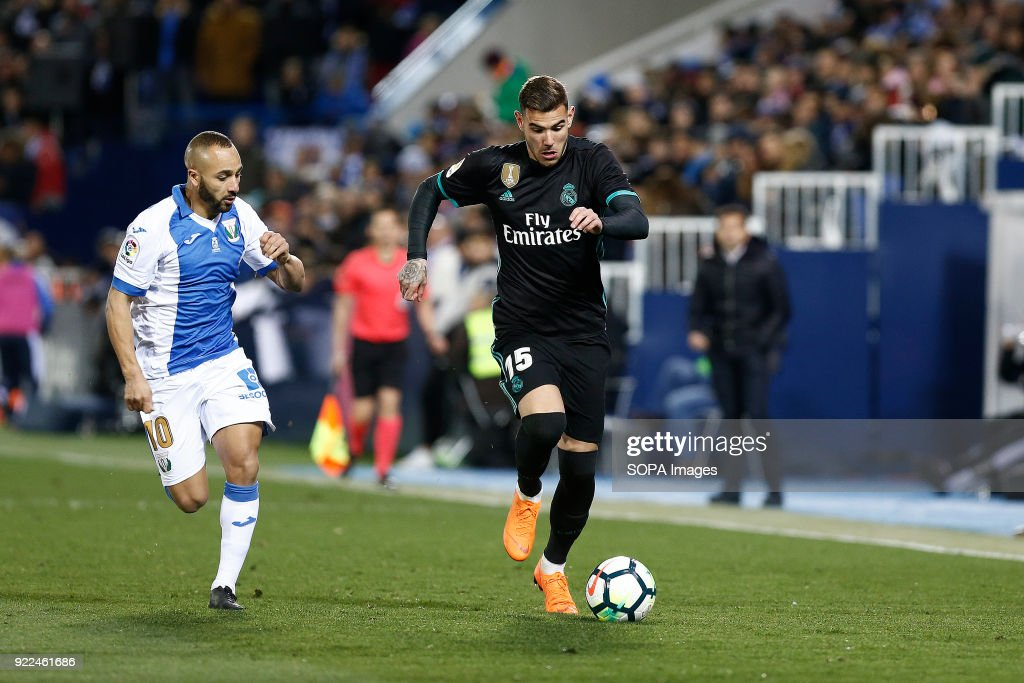 Theo Hernandez (Real Madrid) during the La Liga Santander... : Photo d'actualité