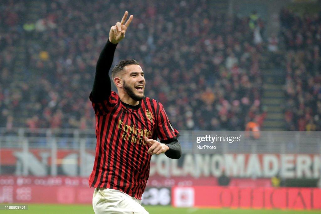 AC Milan v US Sassuolo - Serie A : Nachrichtenfoto