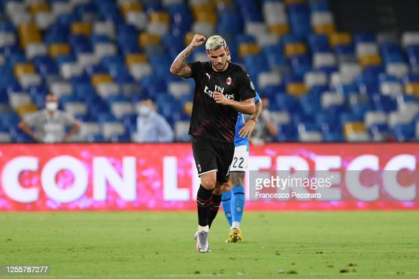 2 046 Theo Hernandez Photos And Premium High Res Pictures Getty Images