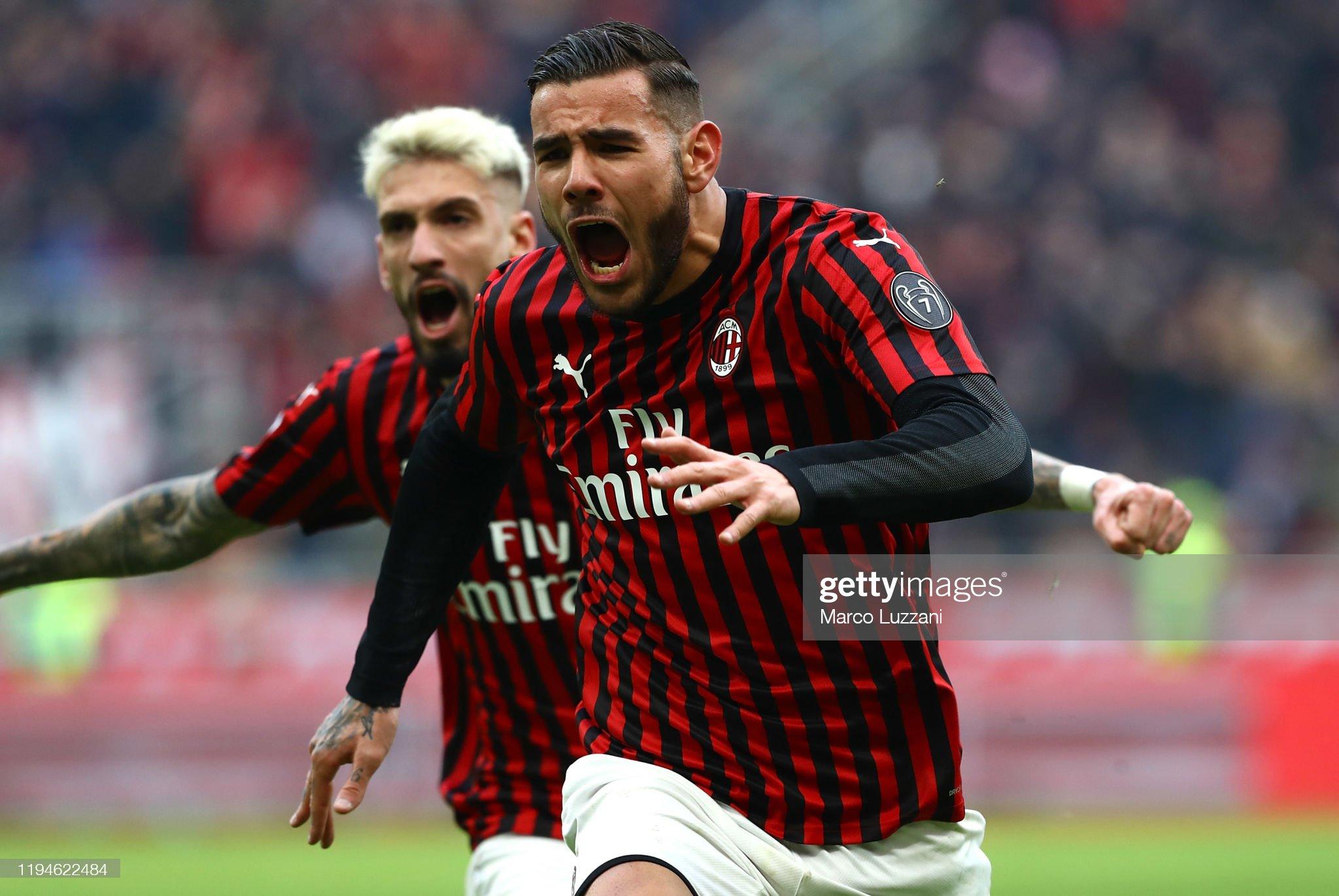 AC Milan v Udinese Calcio - Serie A : Foto di attualità