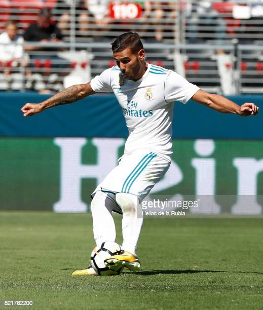 Theo Hernandez of Real Madrid in action during the International Champions Cup 2017 match between Real Madrid v Manchester United at Levi'a Stadium...