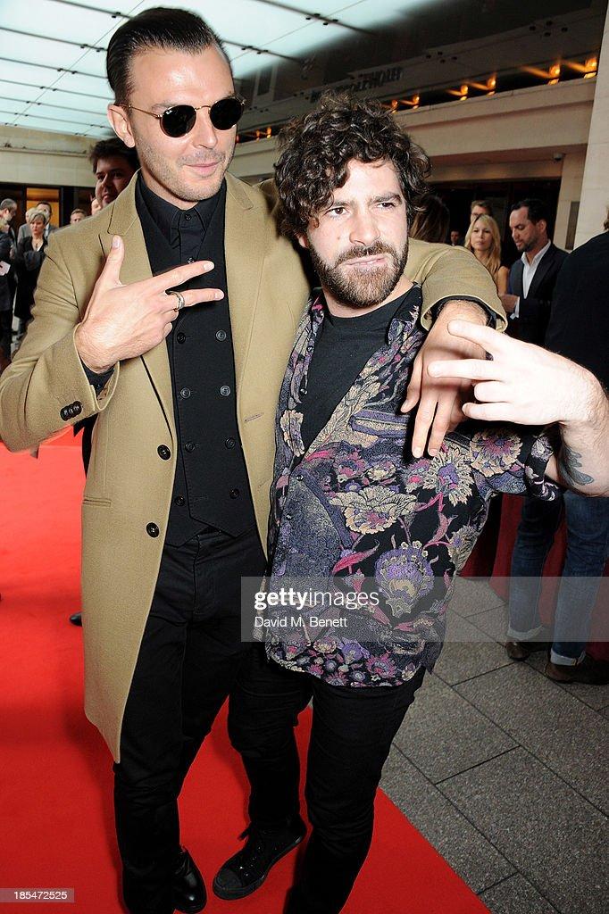 The Q Awards 2013 - Inside Arrivals