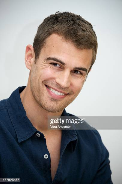 Theo James at the 'Divergent' Press Conference at the Four Seasons Hotel on March 8 2014 in Beverly Hills California