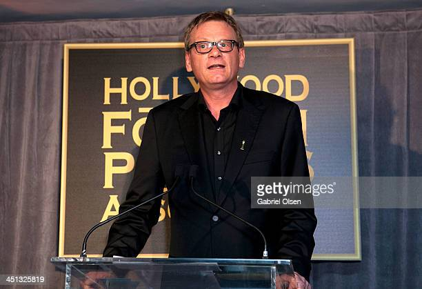 Theo Kingma attends The Hollywood Foreign Press Association And InStyle Celebrates The 2014 Golden Globe Awards Season at Fig Olive Melrose Place on...