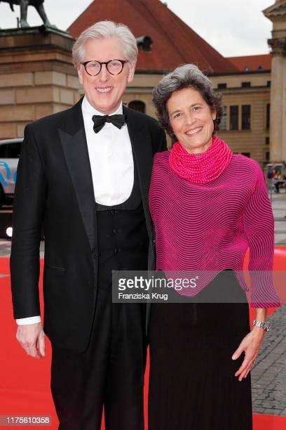 Theo Koll and his wife Franziska Koll during the OPUS Klassik Award at Konzerthaus am Gendarmenmarkt on October 13 2019 in Berlin Germany