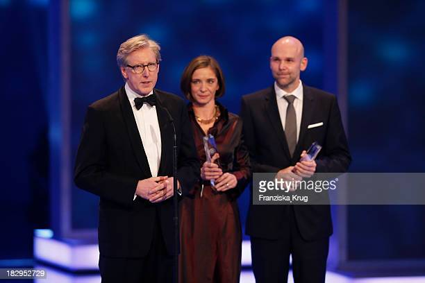 Theo Koll attends the Deutscher Fernsehpreis 2013 Show at Coloneum on October 02 2013 in Cologne Germany The show will be aired in German television...