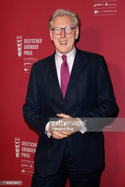 Theo Koll during the Deutscher Gruenderpreis 2019 at ZDF Hauptstadtstudio on July 2 2019 in Berlin Germany