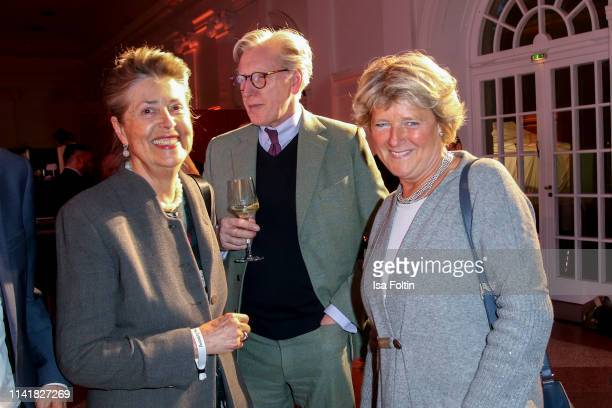 Theo Koll German politician Monika Gruetters and guest during the 14th Long Night of the Sueddeutsche Zeitung at Schloss Charlottenburg on May 6 2019...