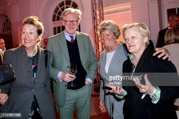 Theo Koll German politician Monika Gruetters German politician Renate Kuenast and guest during the 14th Long Night of the Sueddeutsche Zeitung at...