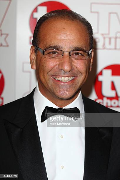 Theo Paphitis attends the TV Quick Tv Choice Awards at The Dorchester on September 7 2009 in London England