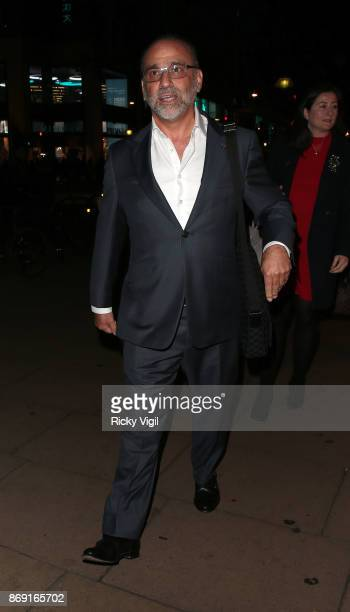 Theo Paphitis Boux Avenue Christmas campaign launch on November 1 2017 in London England