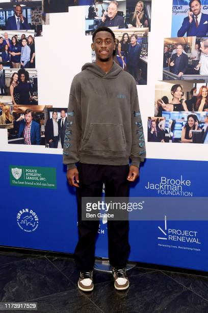 Theo Pinson attends the Annual Charity Day Hosted By Cantor Fitzgerald BGC and GFI on September 11 2019 in New York City