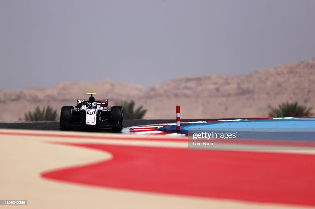 Formula 2 Championship - Round 1:Sakhir - Practice & Qualifying : News Photo