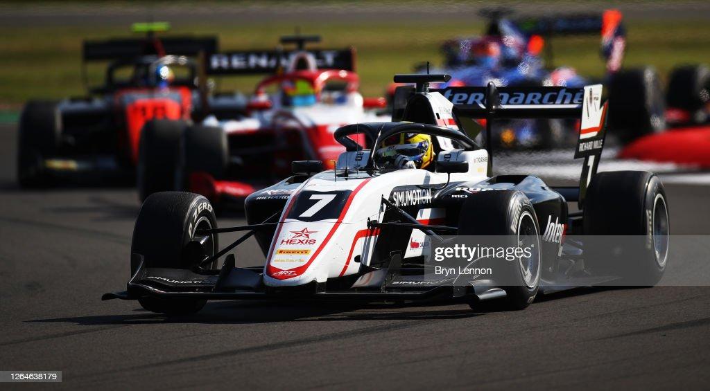Formula 3 Championship - Round 5:Silverstone - First Race : News Photo