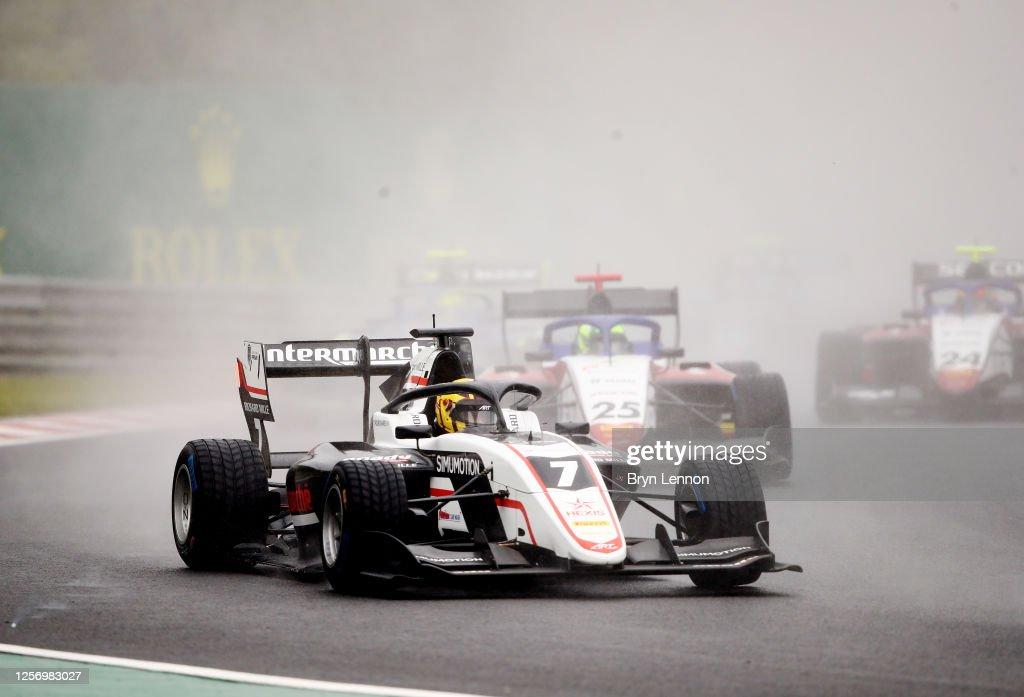 Formula 3 Championship - Round 3:Budapest - Second Race : News Photo