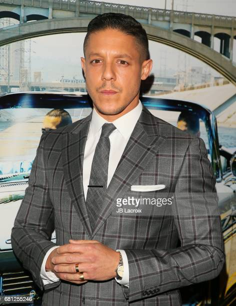 Theo Rossi attends the premiere of BH Tilt's 'Lowriders' on May 09 2017 in Los Angeles California