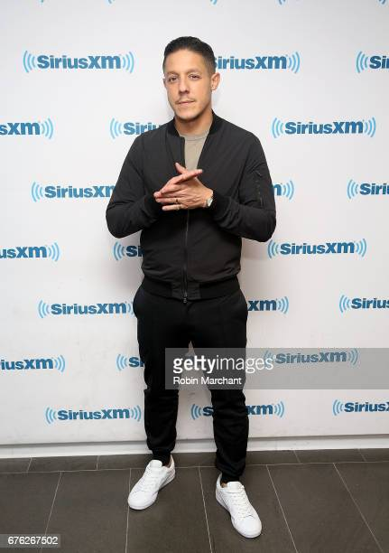 Theo Rossi visits at SiriusXM Studios on May 2 2017 in New York City
