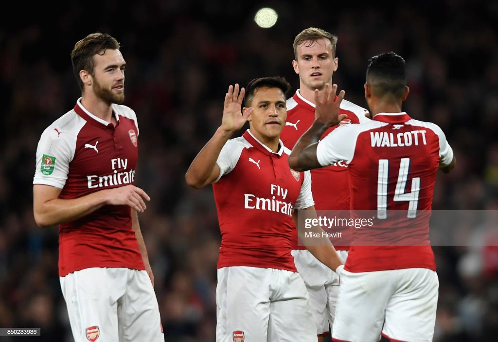Arsenal v Doncaster Rovers - Carabao Cup Third Round : News Photo
