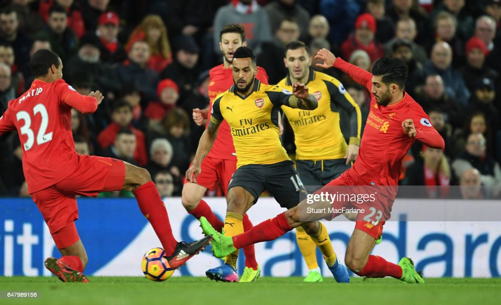 Liverpool v Arsenal - Premier League : News Photo