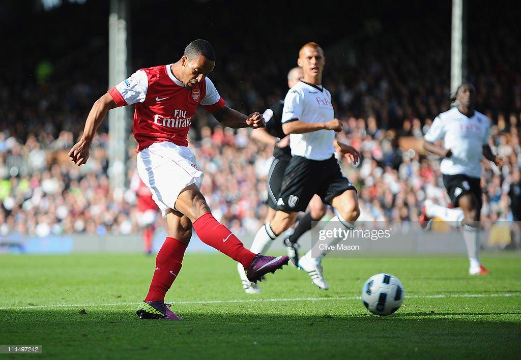 Fulham v Arsenal - Premier League : ニュース写真