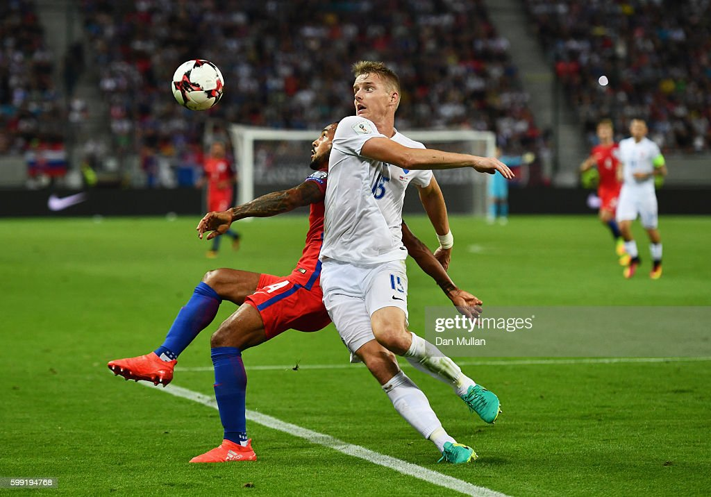 Slovakia v England: 2018 FIFA World Cup Qualifier