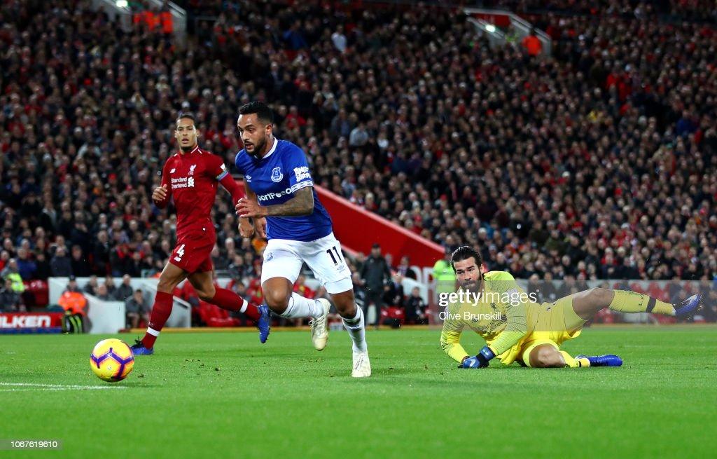 Liverpool FC v Everton FC - Premier League : News Photo