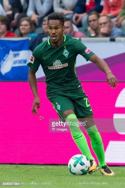Theodor Gebre Selassie of Bremen controls the ball during the Telekom Cup 2017 Final between SV Werder Bremen and FC Bayern Muenchen at Borussia Park...