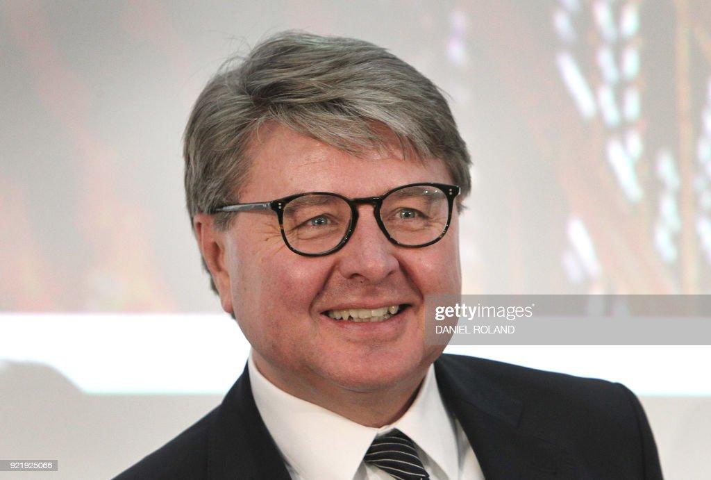 deutsche boerse annual financial statementの写真およびイメージ