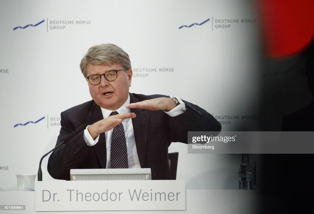 Deutsche Boerse AG Chief Executive Officer Theodor Weimer Announces German Stock Exchange Full Year Earnings