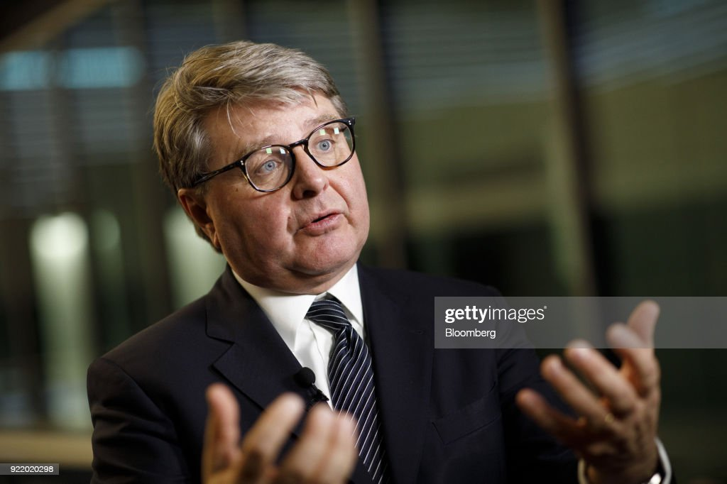 Deutsche Boerse AG Chief Executive Officer Theodor Weimer Announces German Stock Exchange Full Year Earnings : News Photo