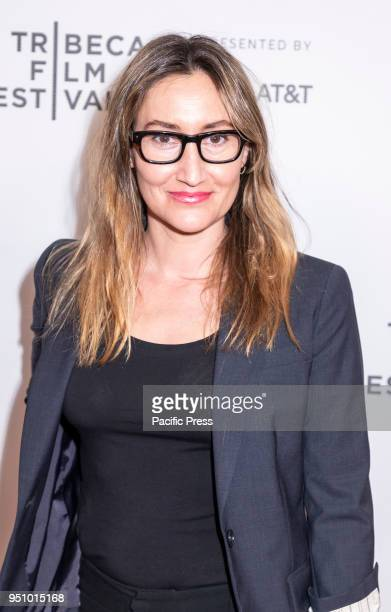 Theodora Dunlap attends the screening of 'Oversharing' at Tribeca TV Indie Pilots during the 2018 Tribeca Film Festival at Cinepolis Chelsea Manhattan