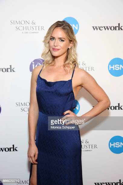 Theodora Miranne attends as inventor and entrepreneur Joy Mangano celebrates the release of her first book INVENTING JOY at WeWork on October 24 2017...