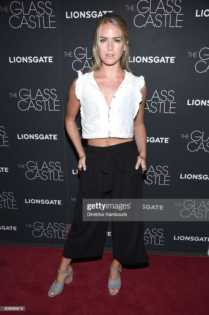 Theodora Miranne attends 'The Glass Castle' New York Screening at SVA Theatre on August 9, 2017 in New York City.