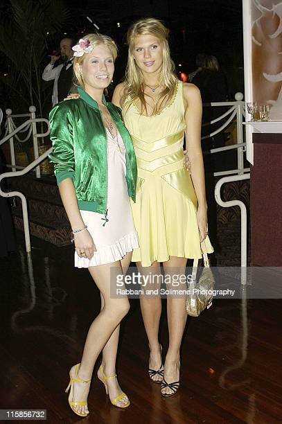 Theodora Richards and Alexandra Richards during VIVA GLAM Casino To Benefit DIFFA at Copacabana in New York City New York United States