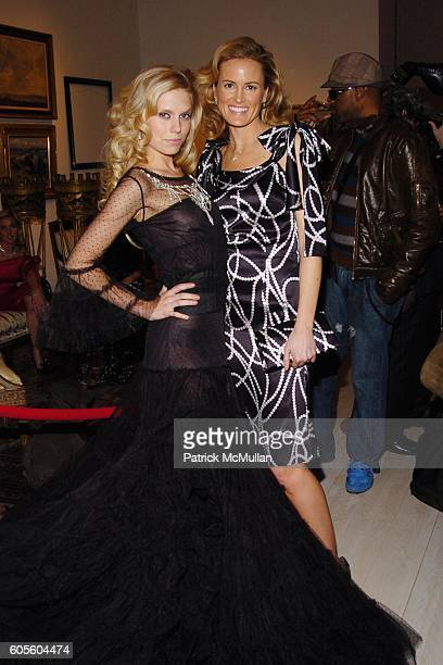 Theodora Richards and Holly Dunlop attend HOLLYWOULD Fall 2006 Presentation at Christie's Auction House on February 8 2006 in New York