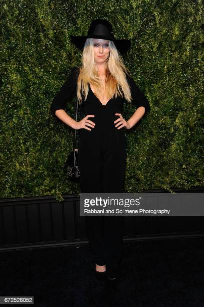 Theodora Richards attends the 2017 Tribeca Film Festival Chanel Artists Dinner on April 24 2017 in New York City