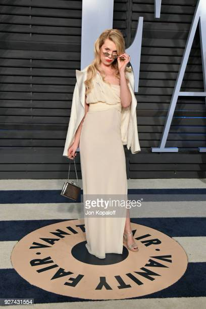 Theodora Richards attends the 2018 Vanity Fair Oscar Party hosted by Radhika Jones at Wallis Annenberg Center for the Performing Arts on March 4 2018...