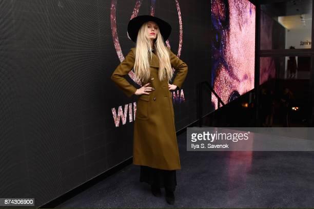 Theodora Richards attends the 50th anniversary celebration of Wilhelmina with cohost Patti Hansen on November 14 2017 in New York City