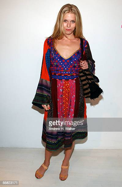 Theodora Richards daughter of Keith Richards attends the opening of the Intermix flagship store in SoHo on September 28 2005 in New York City